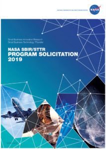 free nasa sbirsttr 2019 program solicitation details  cover nasa proposal template word