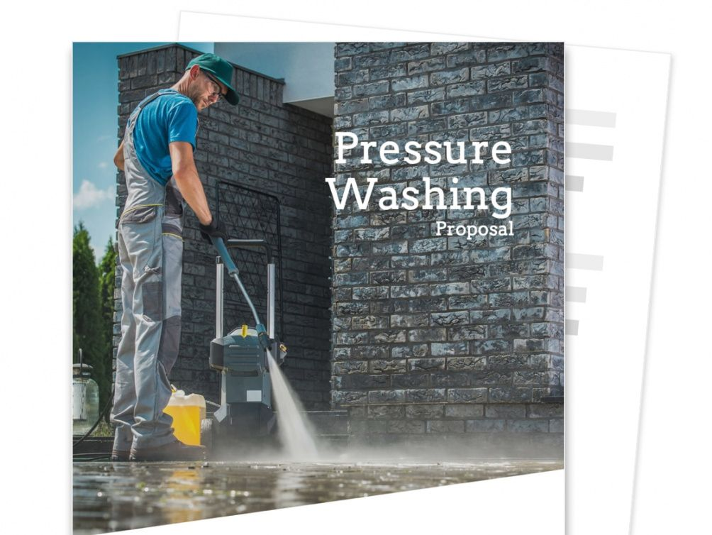 free pressure washing estimate template  free sample  proposable pressure washing proposal template doc