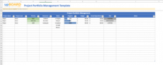 free project portfolio management ppm online software tools management portfolio template doc