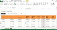 free project tracker excel template engineering project management template pdf