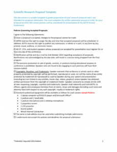 free scientific research proposal template scientific research proposal template