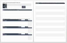 free the essential guide to release management  smartsheet release management policy template