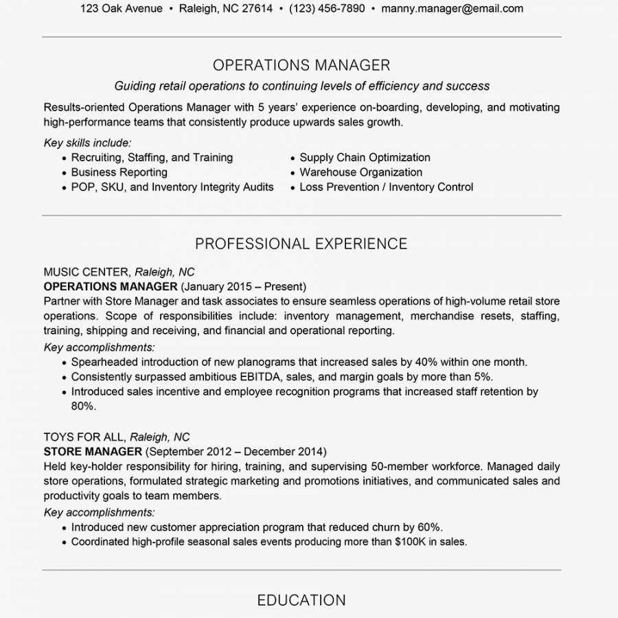 manager resume examples and writing tips business management resume template
