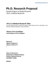 phd research proposal template by phd research proposal  issuu new department proposal template