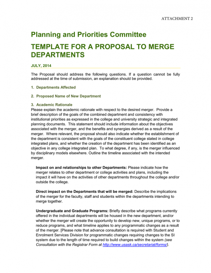 planning and priorities committee template for a proposal to new department proposal template excel
