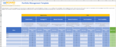 portfolio management online tools templates & software management portfolio template pdf