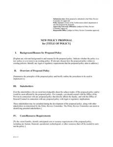 printable 30 professional policy proposal templates & examples work from home proposal template word