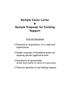 printable 40 best request for proposal templates & examples rpf request for funding proposal template example