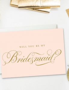 printable 8 will you be my bridesmaid? cards free & printable bridesmaid proposal template doc