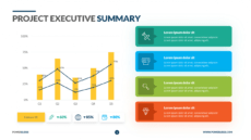 printable project executive summary template  download  powerslides™ project management summary template word