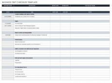 sample 30 free task and checklist templates  smartsheet checklist project management template example