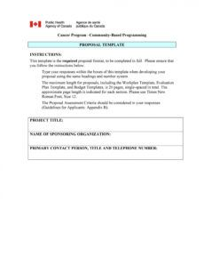 sample 43 professional project proposal templates  templatelab educational program proposal template example
