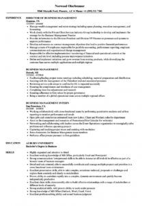 sample business management resume samples  velvet jobs business management resume template word