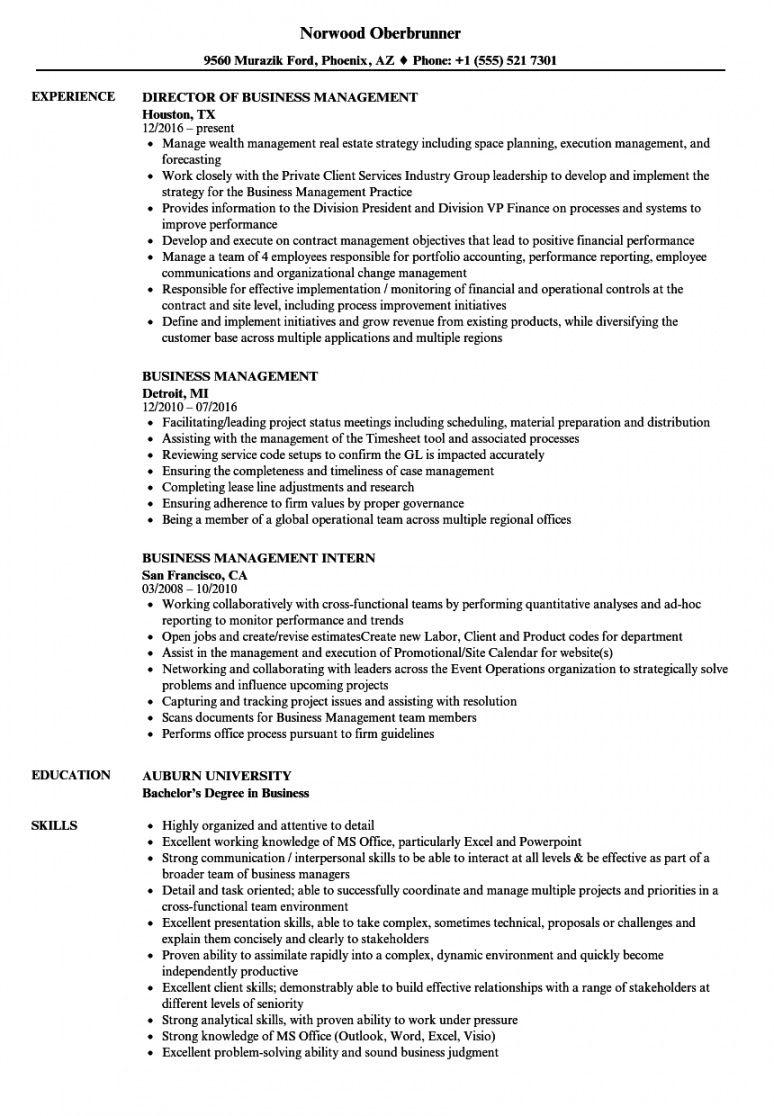 sample business management resume samples  velvet jobs business management resume template word
