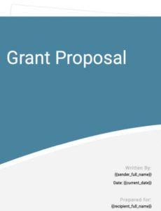 sample funding proposal template  free template  proposable request for funding proposal template pdf