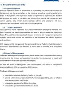 sample governance risk and compliance charter  pdf free download risk management committee charter template