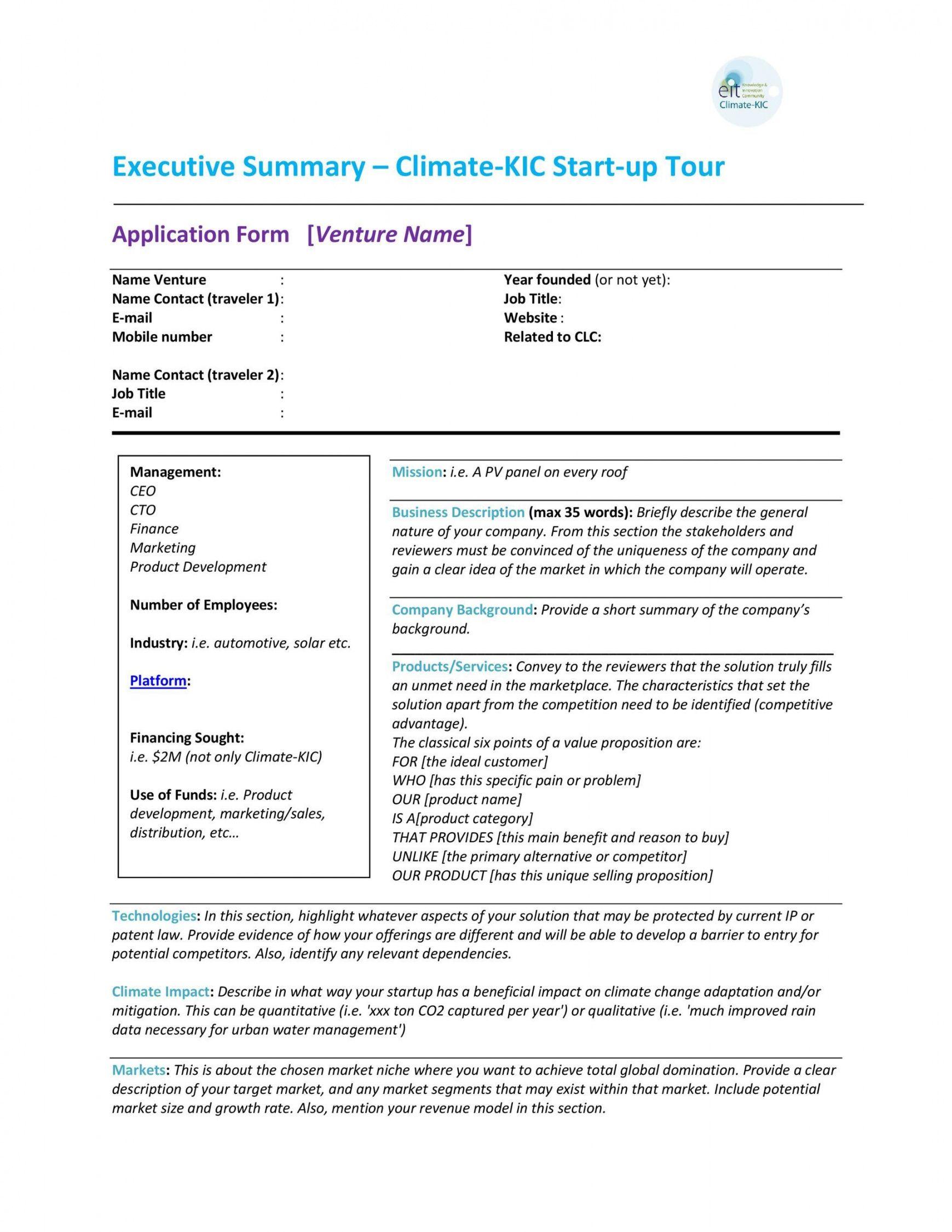 sample project executive summary template ~ addictionary project management summary template pdf