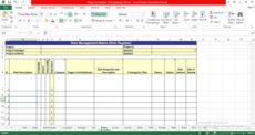 sample project management excel template engineering project management template example