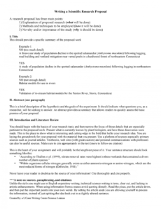 sample scientific research proposal template  cd 616 aphasia  isu scientific research proposal template