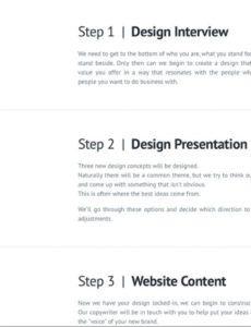 sample templates  sample web development proposal project website web development proposal template excel