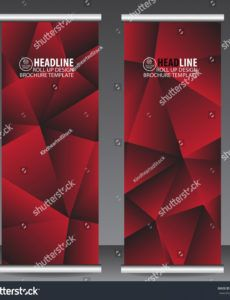 abstract red roll banner template vector stock vector red carpet banner template excel