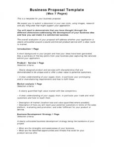 business proposal template  word doc  pdf  ppt  bonsai product development proposal template doc
