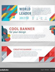 design templates horizontal banner 169419320 horizontal banner template