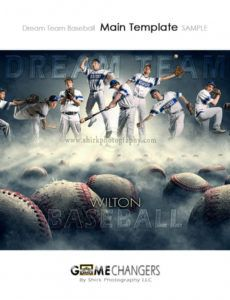 dream team baseball photoshop template  tutorial ⋆ game changers by shirk  photography llc baseball banner template pdf