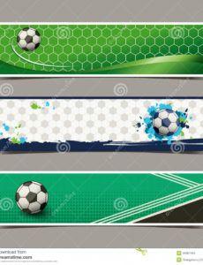 editable banner soccer stock illustrations  53216 banner soccer soccer banner template pdf