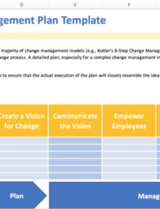 editable change management plan online software tools & templates organizational change proposal template excel