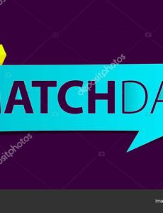 editable football or soccer matchday banner on purple background sport news banner  template design vector illustration 209527832 football banner template excel