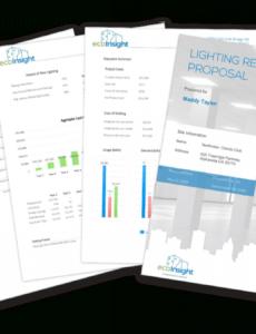 editable the solution  lighting retrofit software  ecoinsight lighting retrofit proposal template doc