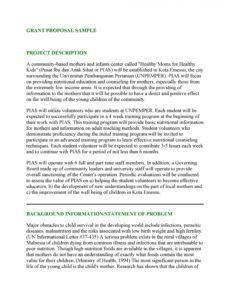 free 40 grant proposal templates nsf nonprofit research non profit project proposal template pdf