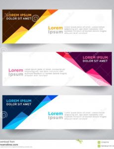 free banner background modern template vector design stock banner background design template example