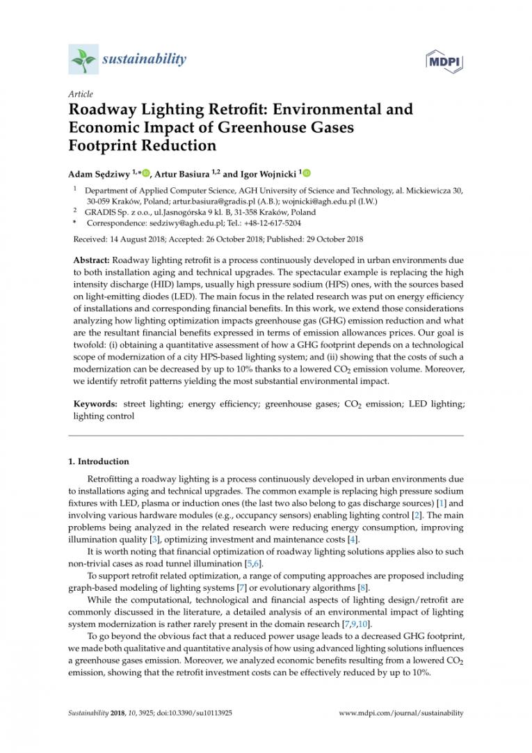 free pdf roadway lighting retrofit environmental and economic lighting retrofit proposal template example