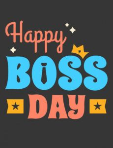 happy boss day poster  download free vectors clipart boss day banner template pdf