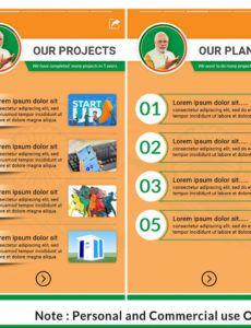 online election campaign promotion political banner for political banner template excel