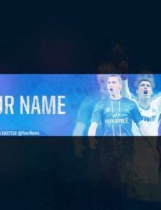 printable 11 youtube banner template psd images  youtube banner size football banner template doc