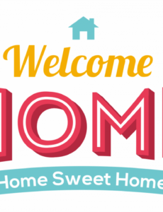 printable 7 best welcome home signs printable  printablee welcome home banner template example