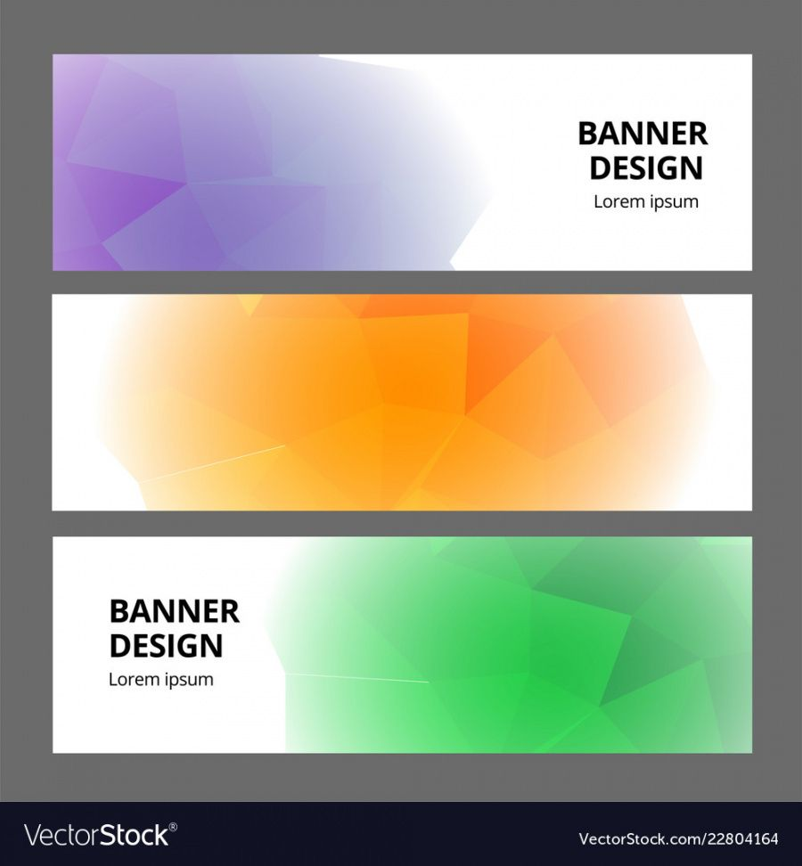 printable modern abstract banner background template design vector image banner background design template excel