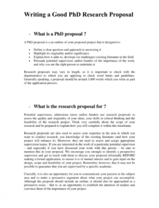printable pdf writing a good phd research proposal phd research proposal template word