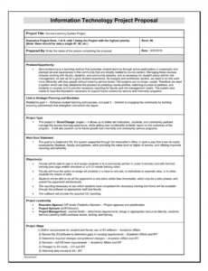 printable project proposal sample service learning project proposal template word