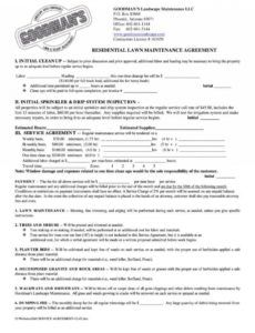 printable snow removal contract template ~ addictionary snow removal proposal template doc