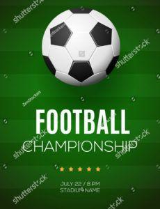 printable vector de stock libre de regalías sobre vector football football banner template pdf