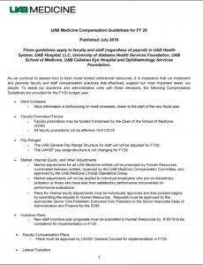 sample compensation guidelines  human resources  uab compensation proposal template