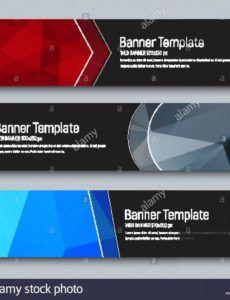 sample design of horizontal banners standard size template horizontal banner template excel