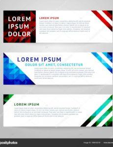 sample design templates horizontal banner 169419318 horizontal banner template pdf