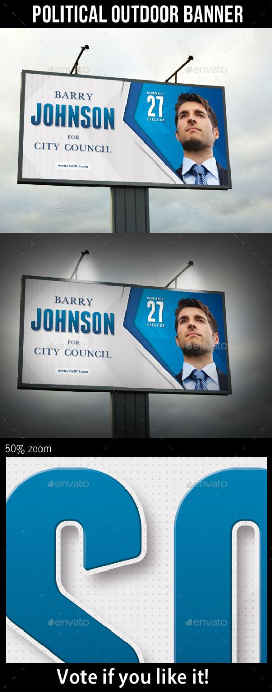 sample political banner graphics designs & templates from graphicriver political banner template example