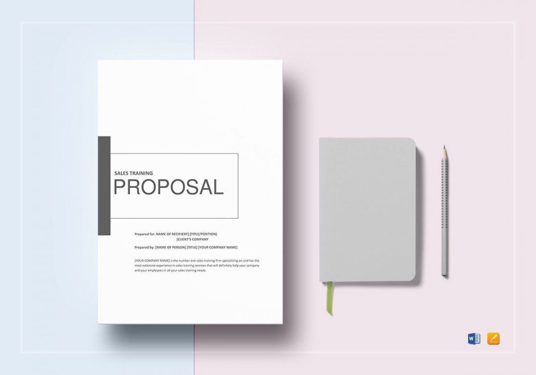 sample sales training proposal template in word google docs apple sales training proposal template pdf