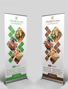 editable 10 roll up banner templates in apple pages  free & premium trade show banner template